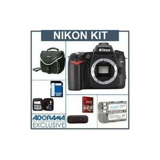 Nikon D90 DSLR Camera Kit. with 8GB SD Memory Card, Spare EN EL3e Lithium Ion Rechargeable Battery, Camera Bag, USB 2.0 SD Card Reader,Professional Lens Cleaning Kit   FREE: Red Giant Magic Bullet PhotoLooks V1.5 Software, for Mac & Windows a $199.00 R