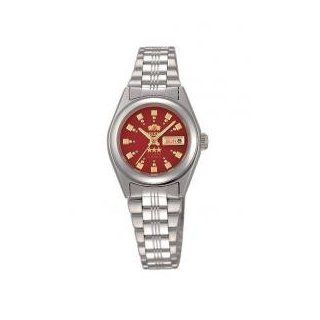 Orient #BNQ1X003H Women's Tri Star Red Dial Automatic Watch Watches