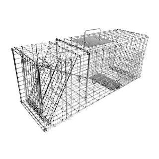 Tomahawk Collapsible Live Trap for raccoon, feral cat, badger, woodchuck & similar sized animals   Model 207 Tomahawk Live Trap Animal Traps : Hunting Cage Traps : Sports & Outdoors