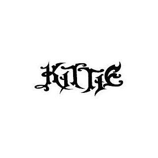 KITTIE BAND WHITE LOGO DECAL STICKER  Automobiles
