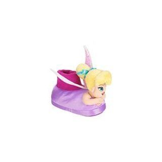 Disney Fairy Tinkerbell Purple Slippers for Toddler Girls Size 11/12; Girl's Shoe; Great for Halloween Costume Toys & Games