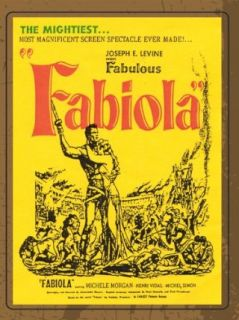 Fabiola: Michele Morgan, Henri Vidal, Michel Simon, CreateSpace:  Instant Video