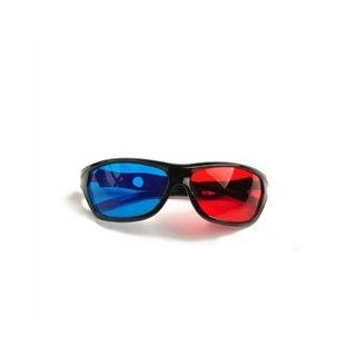 Fashion Anaglyph Video TV Film Chic Red Blue Stereoscopic 3D Glasses: Electronics