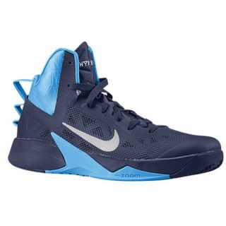 Nike Zoom Hyperfuse 2013   Mens   Basketball   Shoes   Midnight Navy/Photo Blue
