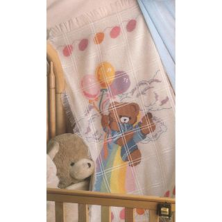 Bear And Balloons Baby Afghan Counted Cross Stitch Kit MCG Textiles Cross Stitch Kits