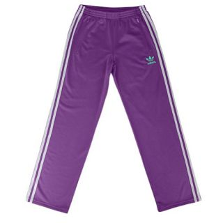 adidas Originals Track Pants   Youth   Casual   Clothing   Tribe Purple/Mid Grey/Fresh Green