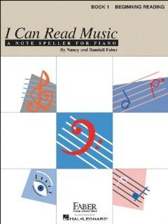 Faber Music I Can Read Music Book 1 Note Speller for Piano Beginning Reading   Faber Piano (Standard) Musical Instruments