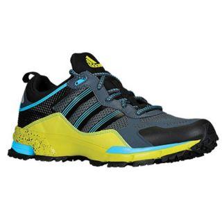 adidas Response Trail Rerun   Mens   Running   Shoes   Solar Blue/Black/Tech Grey Metallic