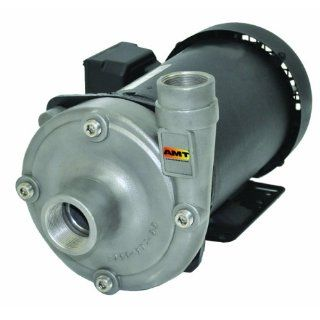 "AMT High Head Straight Centrifugal Pump, Cast Iron, 1 1/2"" NPT Female Suction, 1 1/4"" NPT Female Discharge Ports: Industrial & Scientific"