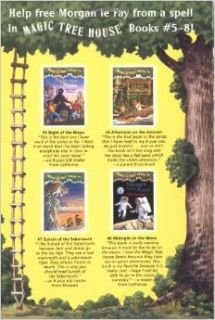 Magic Tree House Boxed Set, Books 5 8: Night of the Ninjas, Afternoon on the , Sunset of the Sabertooth, and Midnight on the Moon: Mary Pope Osborne, Sal Murdocca: 9780375822667: Books