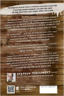 The Dangerous Animals Club: Stephen Tobolowsky: 9781451633160: Books