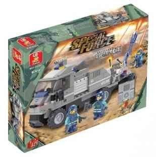 Sluban Special Forces Artillery Tractor 232 Pieces Lego Compatible: Everything Else
