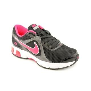 Nike Women's 'Air Max Run Lite+ 2' Mesh Athletic Shoe   Black/Pink Nike Athletic
