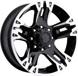 ULTRA   type 234/235 maverick   22 Inch Rim x 9.5   (8x6.5) Offset (12) Wheel Finish   black with diamond cut: Automotive