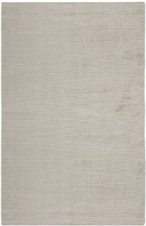 Safavieh MIR234S Mirage Collection Handmade Viscose Area Rug, 5 Feet by 8 Feet, Silver