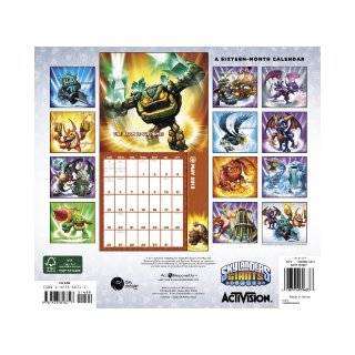 Skylanders Giants 2013 Calendar: Meadwestvaco: 9781423818717: Books
