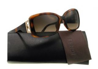 FENDI FS5338R Sunglasses Havana (238) F 5338 R 238 Made in Italy Authentic: Fendi: Clothing