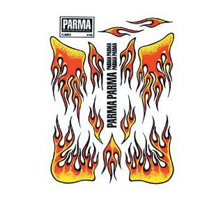 Parma 1/24 Red Flames Decal: Toys & Games