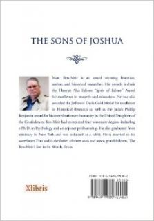 The Sons of Joshua: The Story of the Jewish Contribution to the Confederacy: Marc Jordan Ben Meir: 9781469199382: Books
