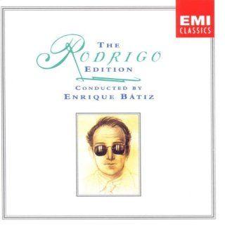The Rodrigo Edition (4 CDs) Concertos & Orchestral Works Conducted by Enrique Batiz Music