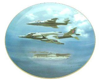 Coalport The Harrier Plate 1987 Frank Wootton Limited Edition plate of 5000 pieces only   GM18   Decorative Plaques