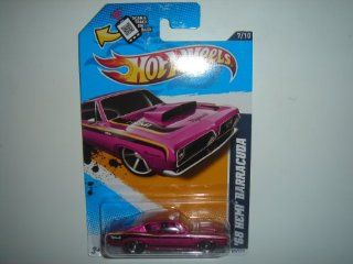2012 Hot Wheels KMart Exclusive Muscle Mania   Mopar '68 Hemi Barracuda Lavender #87/247: Toys & Games