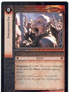 Lord Of The Rings CCG Fellowship Of The Ring Rare 1R 247 Enheartened Foe: Toys & Games