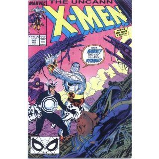 The Uncanny X Men #248 (Fall): Chris Claremont, Jim Lee, Dan Green: Books