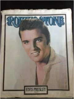 ROLLING STONE MAGAZINE. SEPTEMBER 22ND 1977. ISSUE NO 248: ELVIS PRESLEY 1935 1977.: Rolling Stone.: Books