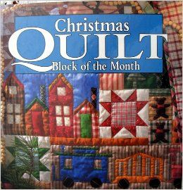 Christmas Quilt Block of the Month: Books