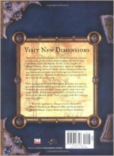 Manual of the Planes (Dungeon & Dragons d20 3.0 Fantasy Roleplaying): Jeff Grubb, Bruce R. Cordell, David Noonan: 9780786918508: Books