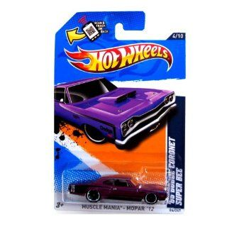 2012 Hot Wheels '69 Dodge Coronet Super Bee Orange #84/247: Toys & Games