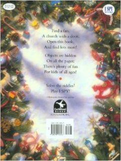 I Spy Christmas: A Book of Picture Riddles: Jean Marzollo, Walter Wick (Photographer): 9780590458467: Books