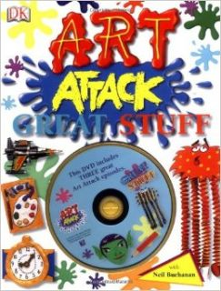 """Art Attack"": Great Stuff: Neil Buchanan: 9781405325462: Books"