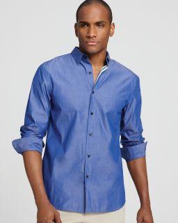 81283909b9 Elie Tahari Steve Solid Sport Shirt Classic Fit s on PopScreen