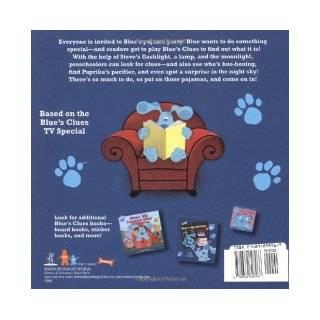 Blue's Big Pajama Party (Blue's Clues (Simon & Schuster Hardcover)) Adam Peltzman, Jenine Pontillo 9780689828966 Books