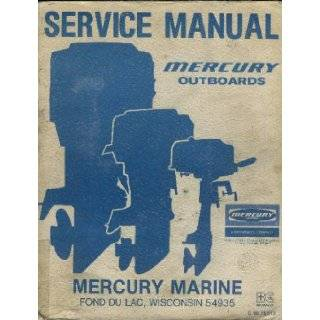 Service Manual Mercury Outboards, C 90 75512: Books