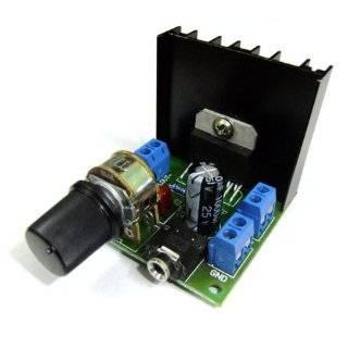 DROK Small Digital Audio Motorcycle Stereo Amplifier Ampli Kit 15W+15W Dual Channel Power Amp 12 Volt Electronics