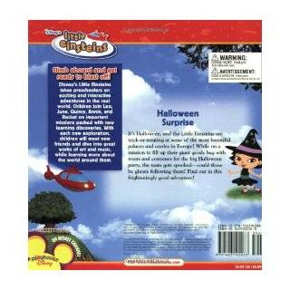 Disney's Little Einsteins Halloween Surprise (Disney's Little Einsteins (8x8)): Disney Book Group, Marcy Kelman, Disney Storybook Art Team: 9781423102083: Books