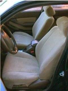 Exact Seat Covers, CM9 V4, 1992 1996 Toyota Camry XLE Front and Back Seat Set Custom Seat Covers, Taupe Velour: Automotive