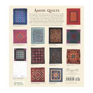 Amish Quilts 2011 Wall Calendar American Folk Art Museum, New York 9780764953491 Books