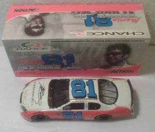 Nascar   Martin Truex #81   Chance 2   2004 Monte Carlo   124 Scale Stock Car   Limited Edition 1 of 2,880 Toys & Games