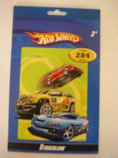 Hot Wheels Sticker Book ~ 284 Stickers Toys & Games