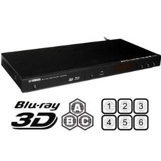 YAMAHA BD S473 Multi Region Zone Code Free 2D/3D Blu Ray DVD Player   Plays Zone A B C Region 1 2 3 4 5 6 0 on Any TV   PAL/NTSC   Worldwide Voltage Electronics