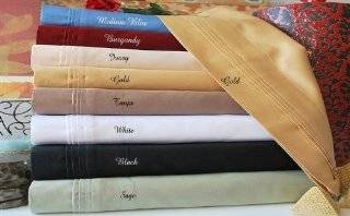 800 THREAD COUNT 100% EGYPTIAN COTTON QUEEN IVORY SOLID SHEET SET.  Other Products