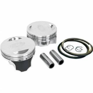 Revolution Performance Big Bore Piston Kit (100in. Flat Top)   Bore 3.875n.   Stroke 4.35in.   10.51 Compression 301 214W Automotive