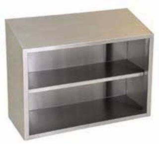 """Eagle Group WCO 24 Wall Cabinet   Hinged Doors, 15x24"""", 18/304 Stainless, Each   Floating Shelves"""