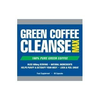 Green Coffee Cleanse Max Strength   The Top Rated Formula. 100% Pure, Premium Green Coffee Bean Extract. All Natural Professional Strength Weight Loss and Fat Burning Supplement. 400mg Health & Personal Care