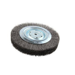 "Lincoln Electric KH322 Crimped Wire Wheel Brush, 4000 rpm, 8"" Diameter x 1 1/4"" Face Width, 5/8"" x 1/2"" Arbor (Pack of 1): Industrial & Scientific"