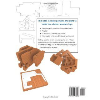 How to Make Wooden Farm Toys Scroll Saw Patterns and Plans Kurtis Foote 9781477672006 Books